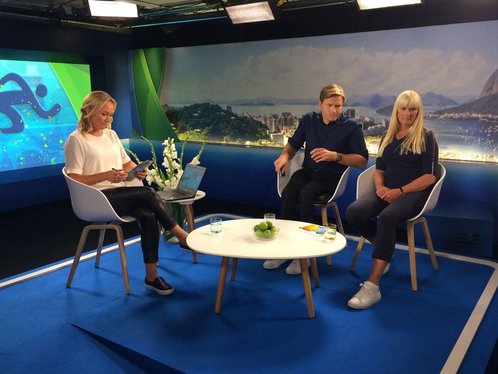 2016: Expertkommentator SVT på Paralympics